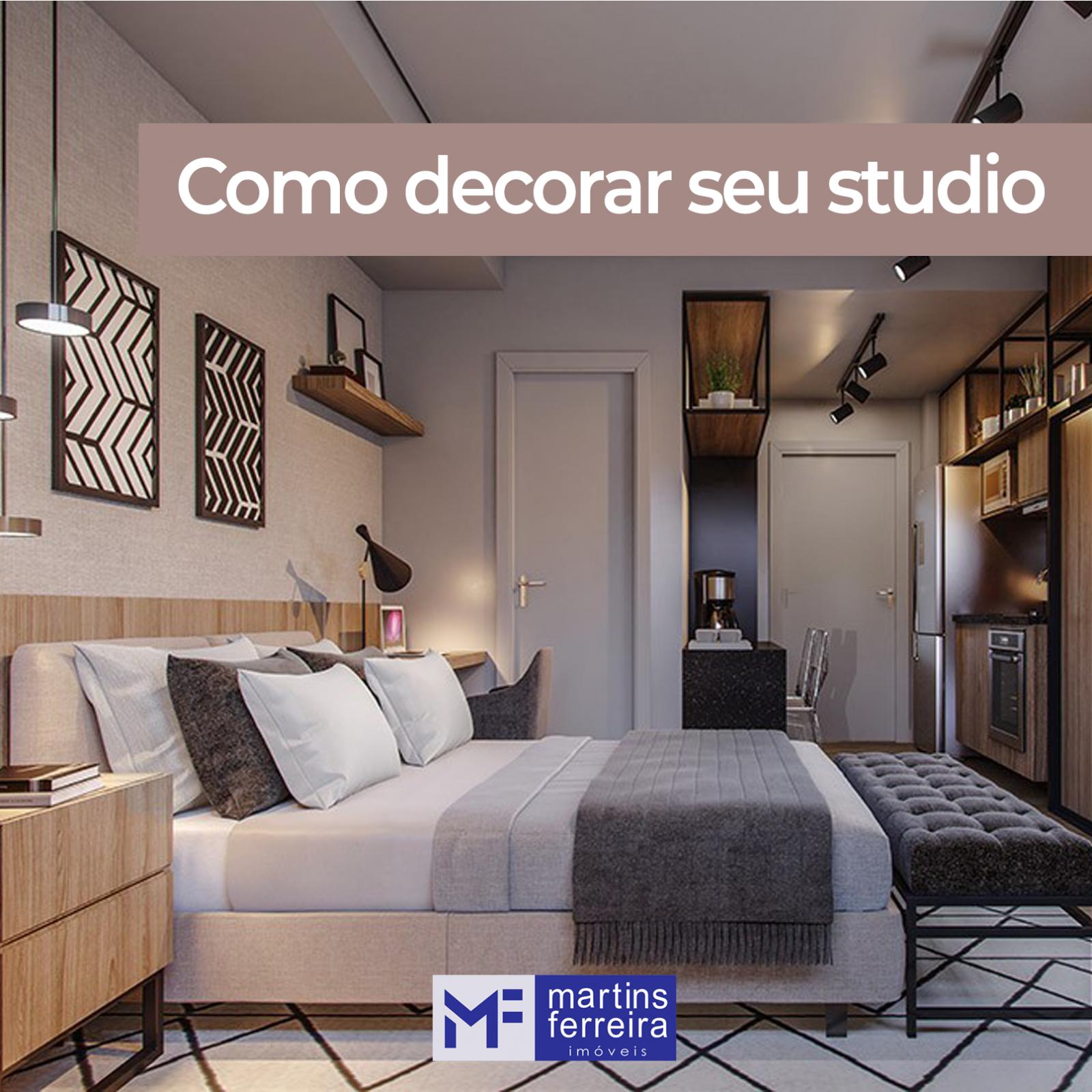Minimalismo e versatilidade: 5 dicas para viver bem em um apartamento Studio